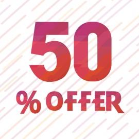 Offer 50%