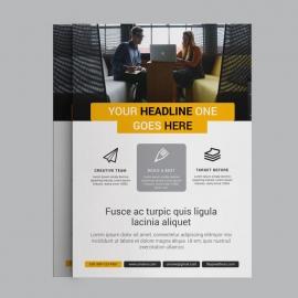 Orange Business Flyer Design