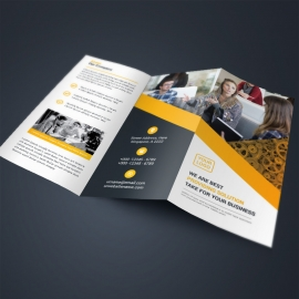 Orange Business TriFold Brochure