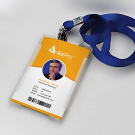Orange Office Identity Card
