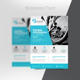 Paste Accent Business Flyer
