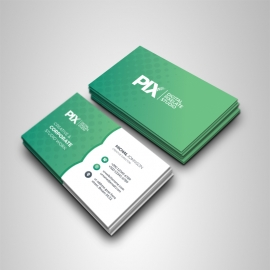 Paste Accent Creative Business Card