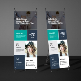 Paste Creative Rollup Banner Template