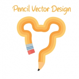 Pencil  Vector Design