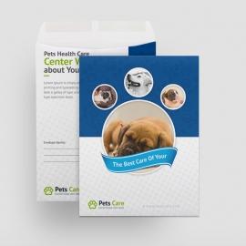 Pets Care Catalog Envelope