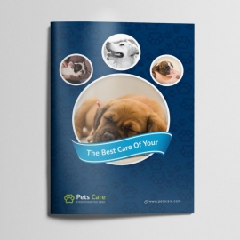 Pets Care Clean Bifold Brochure