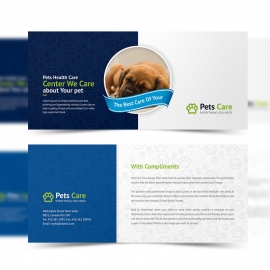 Pets Care Clean Compliment Card
