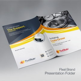 Pexel Studio  Presentation Folder