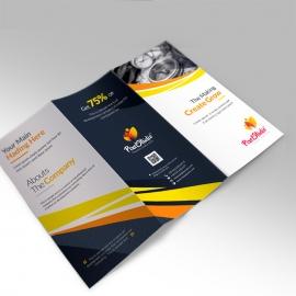 Pexel Studio Trifold Brochure