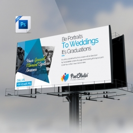Photographer Billboard Banner