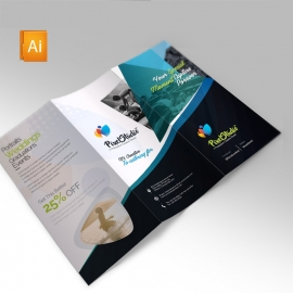 Photographer Clean Trifold Brochure