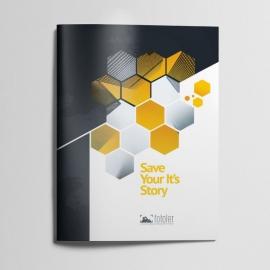 Photographer Creative Clean Bifold Brochure