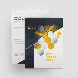 Photographer Creative Clean Catalog Envelope