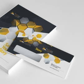Photographer Creative Clean Commerial Envelope