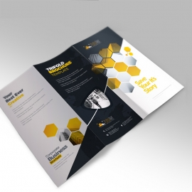 Photographer Creative Clean  Trifold Brochure