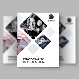 Photography BiFold Brochure Design