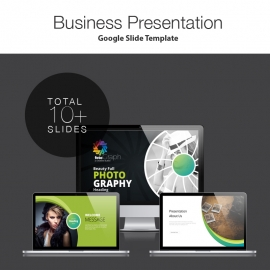 Photography Google Slide Presentation Template