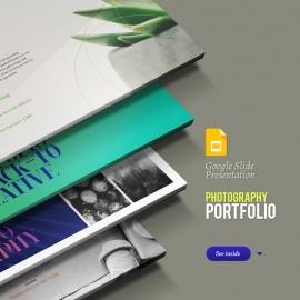 Photography   Portfolio   Product Showcase & Catalogue Google Slide Presentation