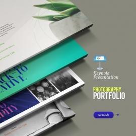 Photography | Portfolio | Product Showcase & Catalogue Keynote Presentation