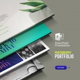 Photography | Portfolio | Product Showcase & Catalogue Powerpoint Presentation