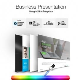 Freepiker | pitch deck start up google slide presentation