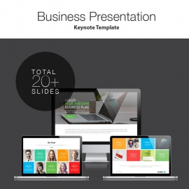 Pitch Deck Start Up Keynote Presentation Template