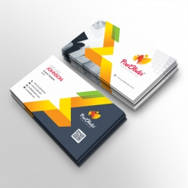 Pixel Brand Business Card