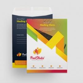Pixel Brand Catalog Envelope