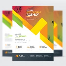 Pixel Brand Creative Flyer