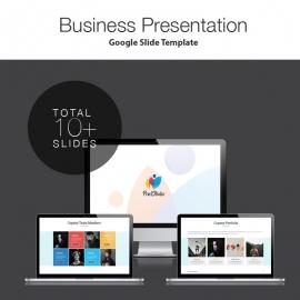 Pixel Studio Google Slide Presentation Template
