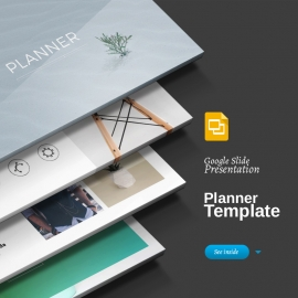 Planner Google Slide Template