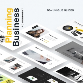 Planning Business Powerpoint Presentation Template