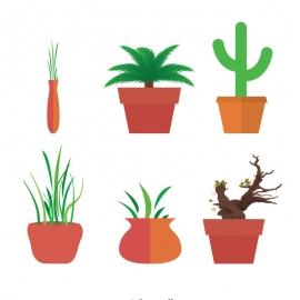 Plantpot Vector Desing
