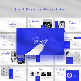 Point Business Presentation Template
