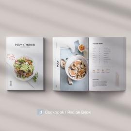 Poly Cookbook  Recipe Book Template