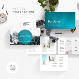 Portfolio Business Presentation Template