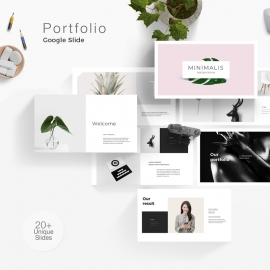 Portfolio Google Slide Template
