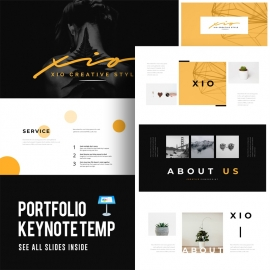 Portfolio Keynote Template 2