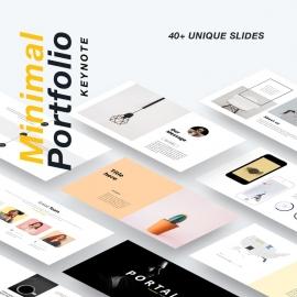 Portfolio Minimal Keynote