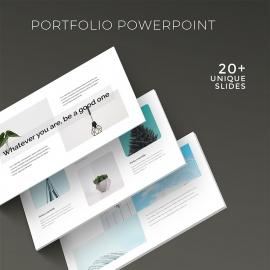 Portfolio Minimal Presentation Template