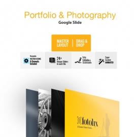 Portfolio & Photography Google Slide Template