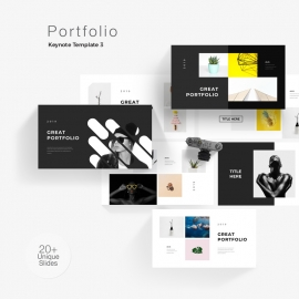 Portfolio Photography Keynote Template