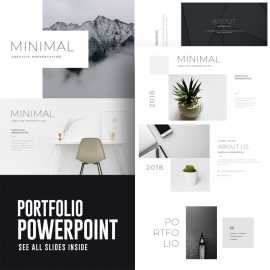 Portfolio PowerPoint Presentation Template