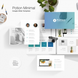 Potion Minimal Google Slide Template