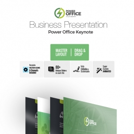 Power Office Keynote Template