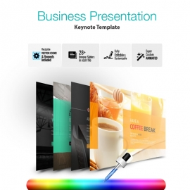 PowerPlan Keynote Presentation Template