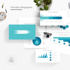 Process Info-graphic Keynote Template