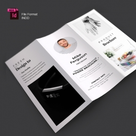 Product Trifold Brochure Template