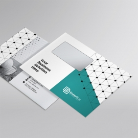 Professional Business  B5_Envelope With Paste Accent