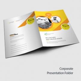 Professional Business Presentation Folder
